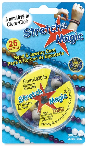 Immagine di Stretch Magic Elast- Gummi Durchmesser 0.5mm auf 25m Rolle