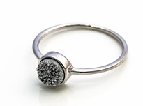 Image de Achat Druzy Silber 7mm Ring, Silber 925, Image 1